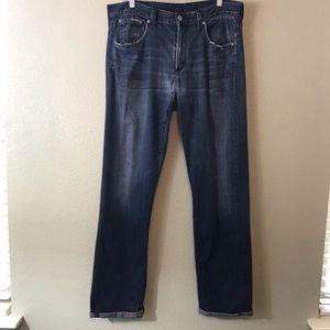 C-O-H Man Destroyed Perfect Relaxed Fit Jeans 34